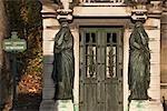 Tomb, Pere Lachaise Cemetery, Paris, Ile-de-France, France