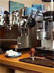 Coffee Grinder and Coffee Tamper