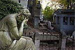 Pere Lachaise Cemetery, Paris, Ile-de-France, France