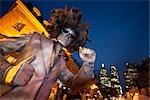 Disco Man Human Statue, Buskerfest, Toronto, Ontario, Canada