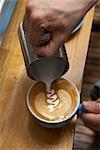 Faire un café au lait