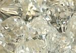 Extreme close up of large diamonds