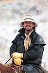 Porträt von Cowboy