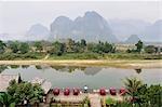 Province de Nam Song River, Vang Vieng, Vientiane, Laos