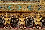 Wat Phra Kaew , Grand Palace, Bangkok, Thailand