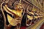 Wat Phra Kaew, Grand Palais, Bangkok, Thaïlande