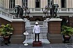 Wachwechsel bei der Grand Palace, Bangkok, Thailand