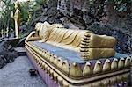 Statues, Phou Si, Luang Prabang, Laos