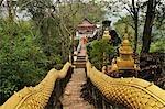 Pathway, Phu Si, Luang Prabang, Laos
