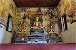 Intérieur du Wat Pahouak, Luang Prabang, Laos