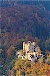 Château de Hohenschwangau en automne, Hohenschwangau, Schwangau, Ostallgau, Allgäu, Bavière, Allemagne