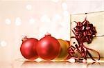 Cadeaux et décorations de Noël