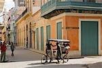Cuba,Havana. Locals on the streets of old Havana