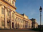 England, London, Greenwich. Das Royal Naval College.