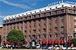 Russie, Saint-Pétersbourg. Astoria Hotel.