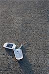 Defekte Handy