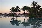 Infinity Pool at Bora Bora Nui Resort, Bora Bora, Tahiti, French Polynesia