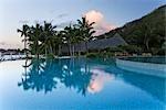 Swimming Pool at Bora Bora Nui Resort, Bora Bora, Tahiti, French Polynesia