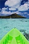 Kayak, Bora Bora Nui Resort, Bora Bora, Tahiti, French Polynesia