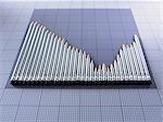 Pencils forming graph