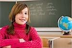 Porträt von Student