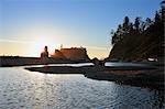 Sea Stacks, Ruby Beach, Olympic National Park, Washington State, USA