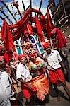 Hindu Street Festival, Madurai, Tamil Nadu, India