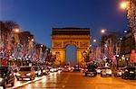 Triumphbogen, Champs Elysees, 8. Arrondissement, Paris, France, Frankreich