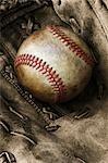Gant de base-ball et de base-ball