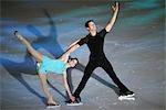 Deux patineurs