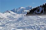 Nadelhorn Berg, Walliser Alpen, Wallis, Schweiz