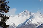Bietschhorn Berg, Berner Alpen, Schweiz