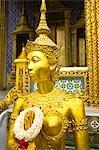 Statue, Grand Palais, Bangkok, Thaïlande centrale, Thaïlande
