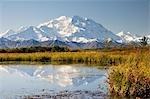 Mont McKinley, Denali National Park et Preserve, Alaska, USA
