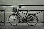 Bicycle, Paris, Ile-de-France, France