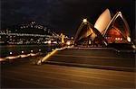 Sydney Opera House and Harbour Bridge, Sydney, New South Wales, Australia