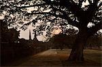 Sunset at Wat Phra Si Sanphet, Ayutthaya, Thailand
