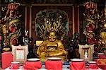 Statue de Bouddha, Wat Phanan Choeng, Ayutthaya, Thaïlande