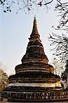 Chedi at Wat Umong, Chiang Mai, Thailand