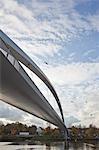 De Hoge Bridge, Meuse River, Maastricht, Limburg Province, Netherlands