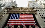 Stock Exchange, Financial district, Lower Manhattan, New York City, New York, United States of America, North America