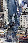 Broadway et Times Square, Manhattan Midtown, New York City, New York, États-Unis d'Amérique, l'Amérique du Nord