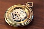 Intérieur d'une montre
