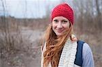 Woman Hiking, Troutdale, Oregon, USA