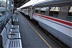 Train, Zagreb, Croatia