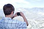 Boy Taking Photograph, Monterrey, Mexico