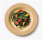 Close up of healthy rice salad
