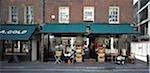 Shop fronts, Spitalfields, London.