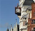 Horloge, Royal Courts of Justice, The Strand, London. Architectes : George Edmund Street