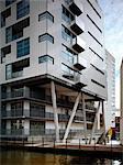 Le verrou, Whitworth Street West, Manchester. Architectes : MBLA, architectes et urbanistes